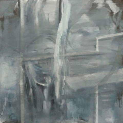 "Albert Oehlen, ""Student II"", 1997 (série Grey Paintings)"
