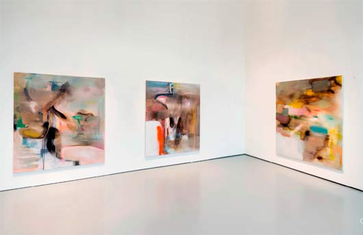 "Exposition Albert Oehlen, ""Cows by the water"", Palazzo Grassi, Venise, (...)"